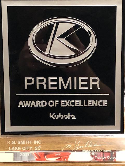 Kubota Premier Award.jpg upright